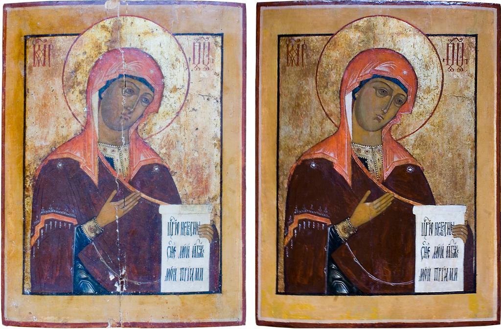 Богородица из деисусного чина